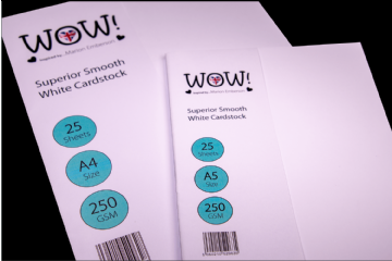 WOW! Superior Smooth White Cardstock - A5